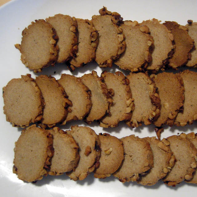 Blue Cheese Walnut Crackers
