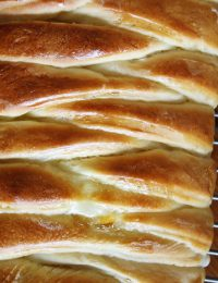 Braided Lemon Cream Cheese Bread