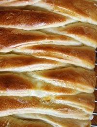 Braided Lemon Cream Cheese Bread