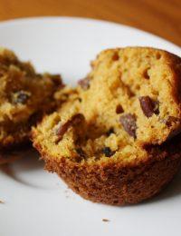 Pumpkin Pecan Muffins