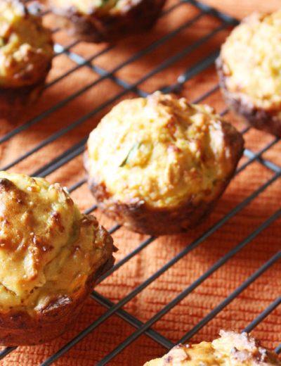 Cheddar Squash Muffins