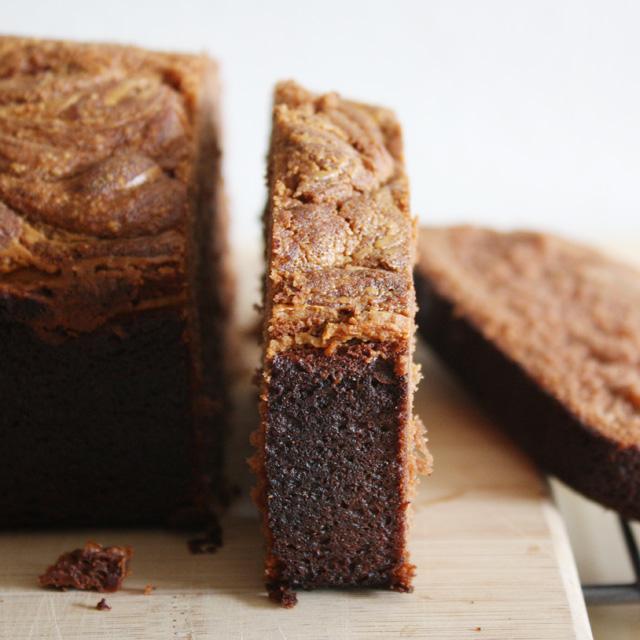 Chocolate Peanut Butter Swirl Bread