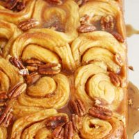 orange pecan sticky buns