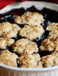 Blueberry Cherry Cobbler