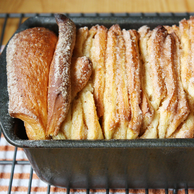 Cinnamon Brown Butter Pull-Apart Loaf