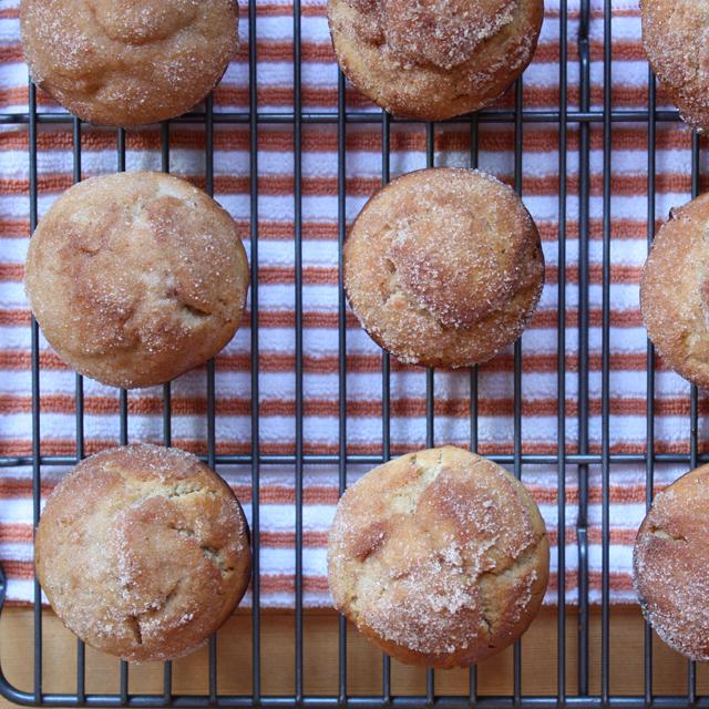 Cider Doughnut Muffins