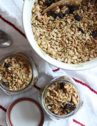 Cherry, Maple and Walnut Granola