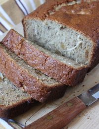 Gluten Free Coconut Ginger Banana Bread