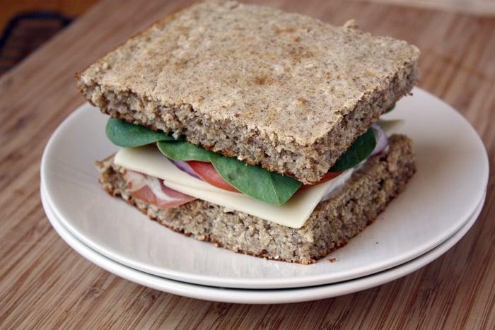 rieska sandwich on plate