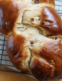 Triple Chocolate Chip Challah