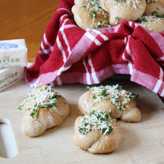 Parmesan Garlic Knots