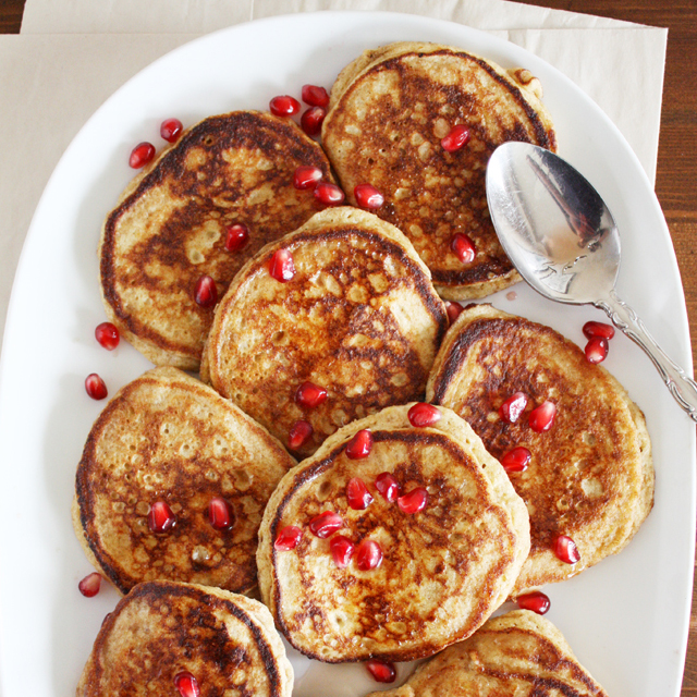 Whole Wheat Lemon Ricotta Pancakes