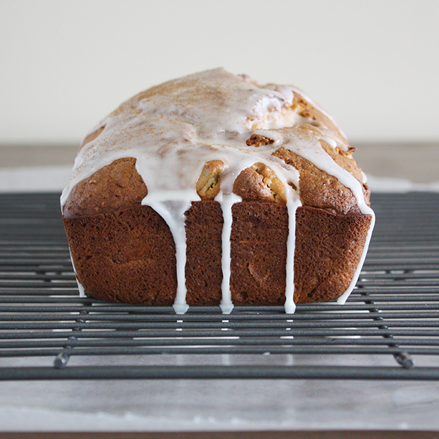 Chai-Spiced Coconut Pear Bread