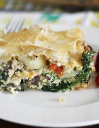 Phyllo Egg Brunch Casserole