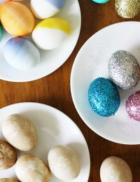 Easter Eggs Three Ways