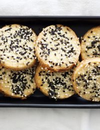 Sweet and Salty Sesame Seed Cookies