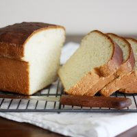 southern sally lunn bread on cooling rack