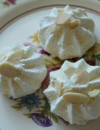 Orange-Almond Meringues