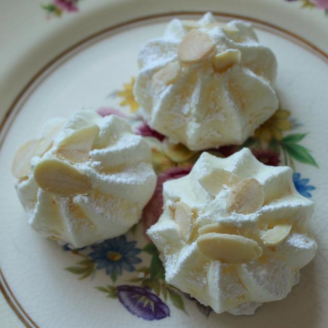 Orange-Almond Meringues