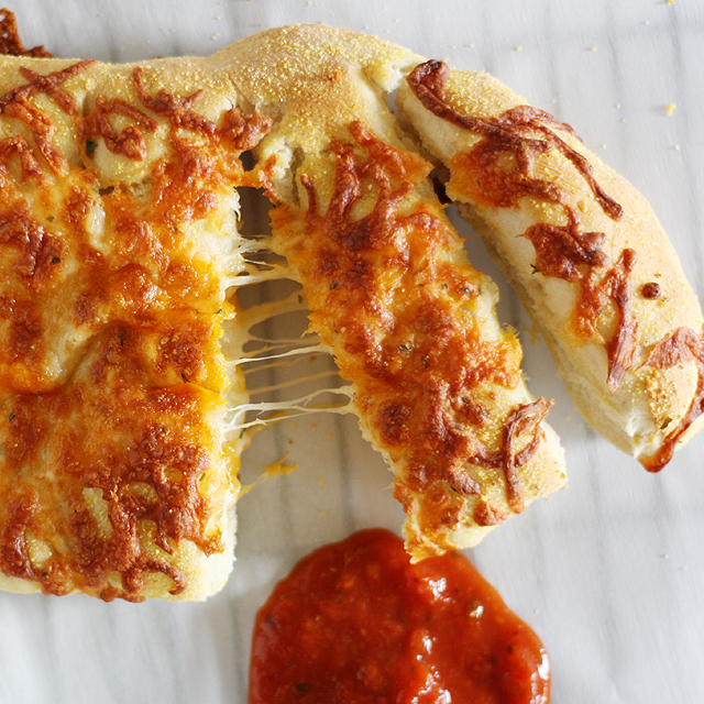 Stuffed Cheesy Bread