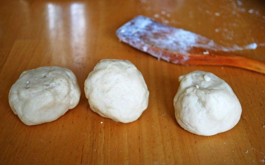 sausage stuffed piglet bun dough