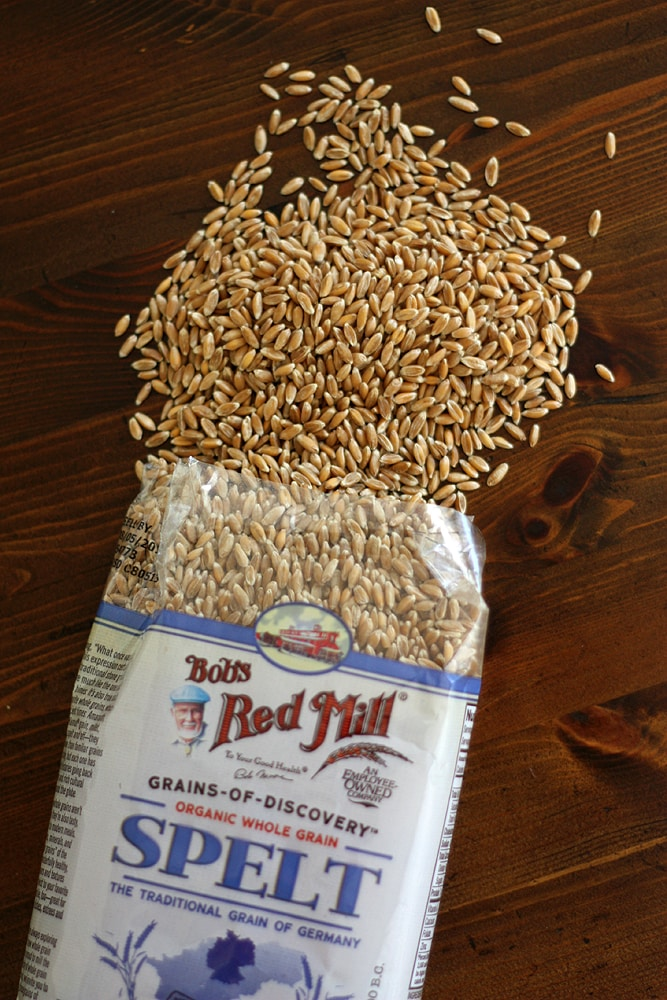 Bob's Red Mill spelt package