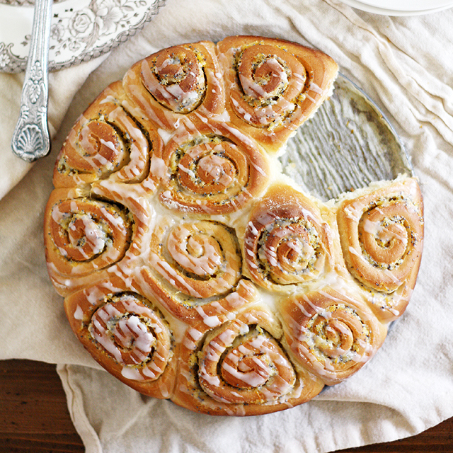 Meyer Lemon Poppy Seed Rolls