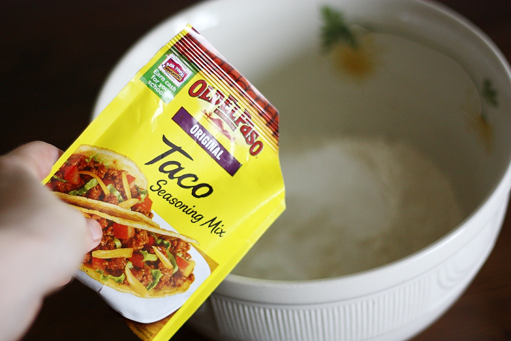 el paso taco seasoning mix packet