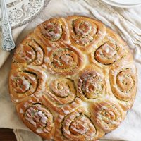 meyer lemon poppy seed sweet rolls