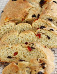 Olive and Sun-Dried Tomato Bread
