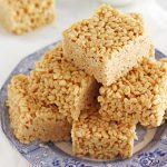 Brown Butter Peanut Butter Crispy Treats