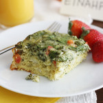 slow cooker egg casserole