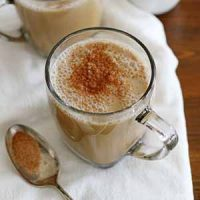 vanilla almond chai latte