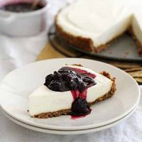 lemon ginger panna cotta cheesecake