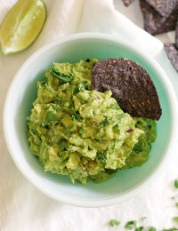grilled pineapple coconut guacamole