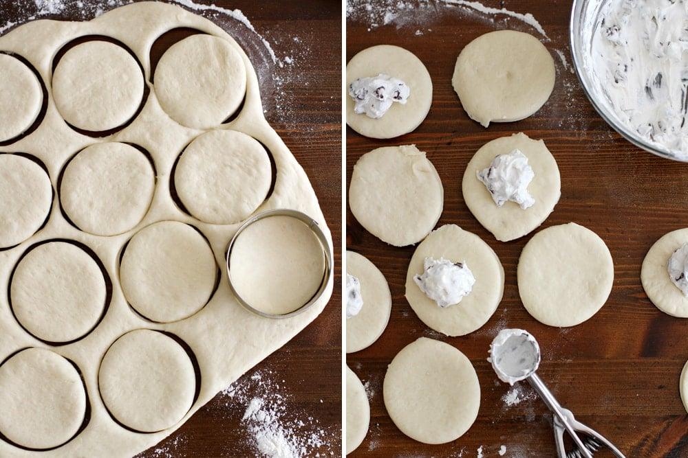 smores pretzel hand pie dough