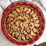 ginger plum pie