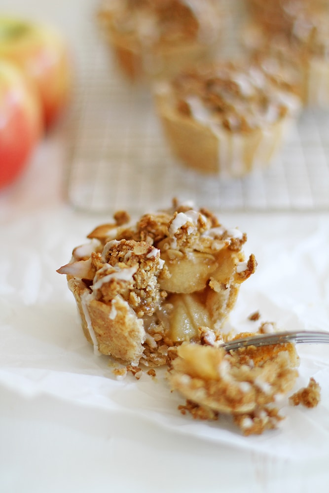 iced oatmeal cookie apple pie
