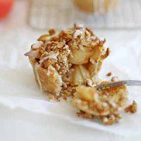 iced oatmeal cookie apple pie