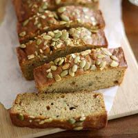 pumpkin zucchini bread sliced
