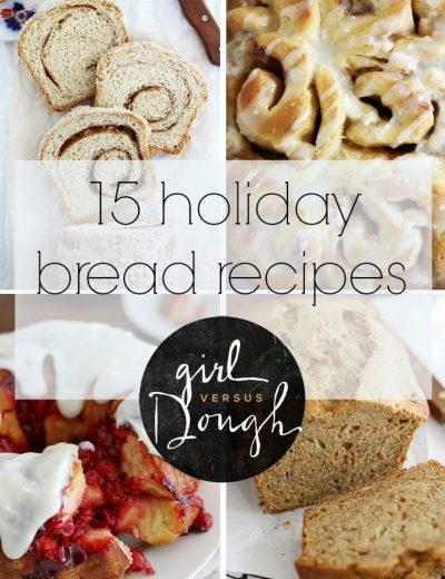 15 holiday bread recipes