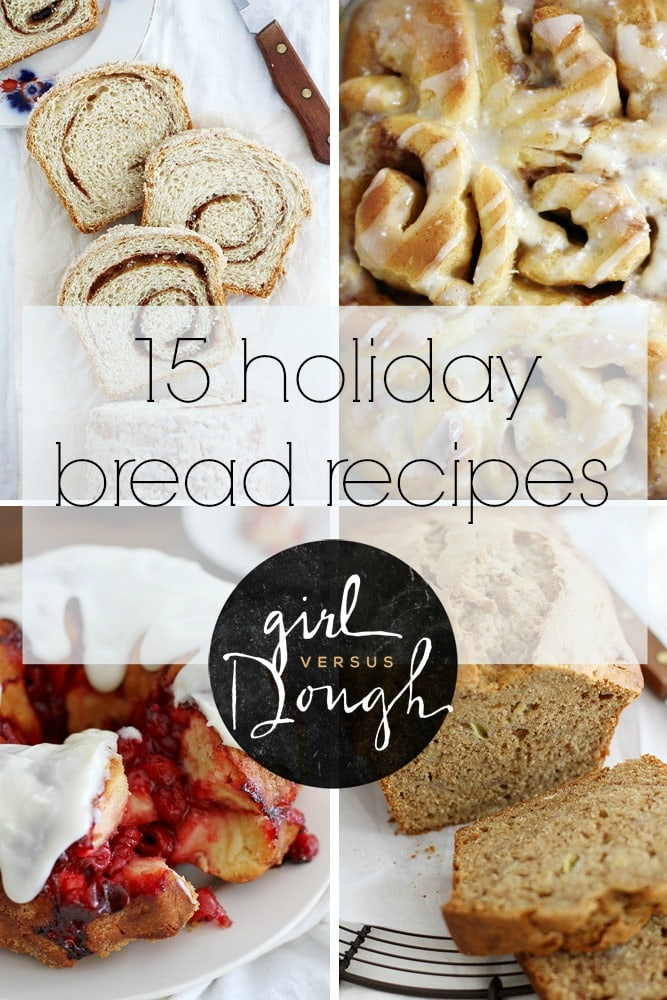 15 holiday bread recipes