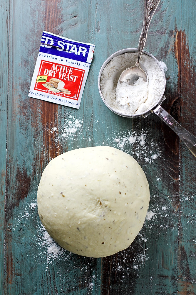 skillet roll dough