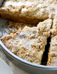 cream cheese swirl carrot coffee cake