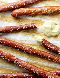 hard pretzel rods