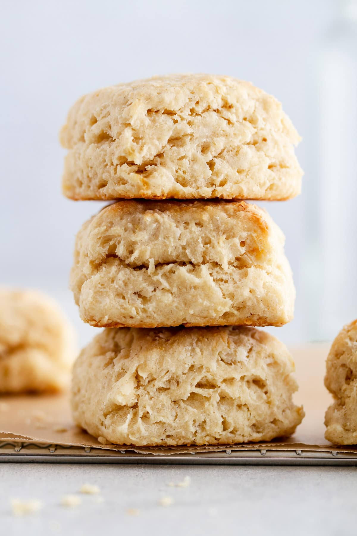 Flaky Fluffy Southern Buttermilk Biscuits Recipe Girl Versus Dough