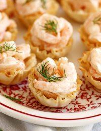 easy shrimp salad bites