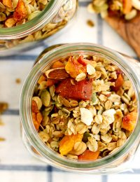 ginger peach granola