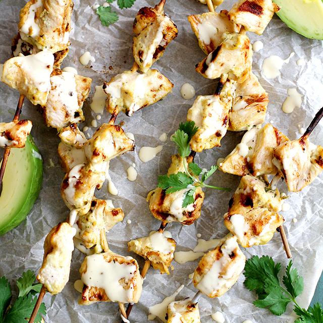 avocado ranch grilled chicken