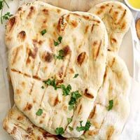no knead grilled naan
